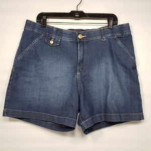 Lee Jean Shorts with Comfort Waistband